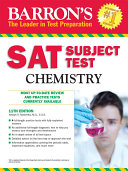 SAT Subject Test Chemistry, 11th ed.