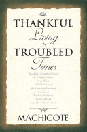 Pdf Thankful Living In Troubled Times