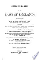 Commentaries on the Laws of England Pdf/ePub eBook