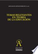 Aspectos antropológicos implicados en una Teoría de la Educación