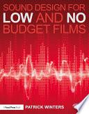 Sound Design for Low   No Budget Films Book PDF