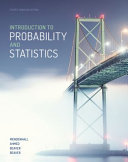 Introduction To Probability And Statistics Book PDF