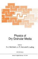 Physics of Dry Granular Media Pdf/ePub eBook