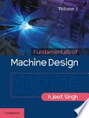 Fundamentals of Machine Design Book