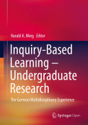 Inquiry-based Learning -- Undergraduate Research