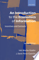 An Introduction To The Economics Of Information Book