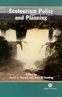 Ecotourism Policy and Planning [Pdf/ePub] eBook