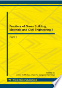 Frontiers Of Green Building Materials And Civil Engineering Ii Book PDF