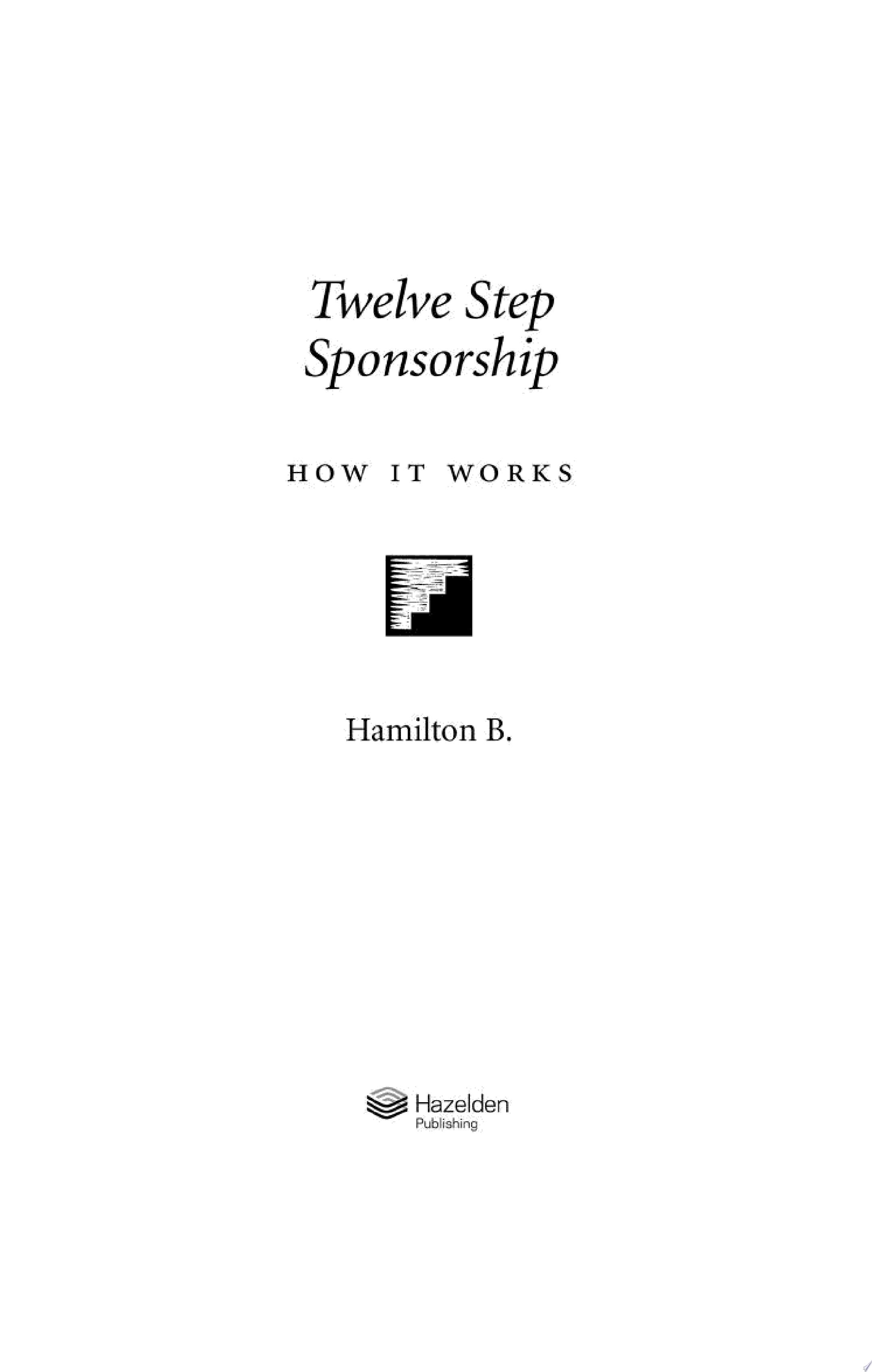 Twelve Step Sponsorship