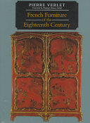 French Furniture of the Eighteenth Century