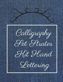 Calligraphy Set Strater Kit Hand Lettering Book