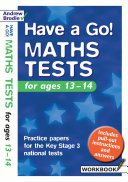 Maths Tests for Ages 13-14