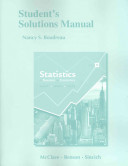 Student s Solutions Manual for Statistics for Business and Economics Book