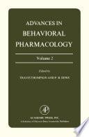 Advances In Behavioral Pharmacology Book PDF