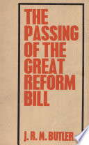 The Passing of the Great Reform Bill