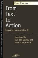 Du texte à l'action