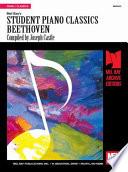 Student Piano Classics Beethoven