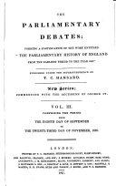 Pdf The Parliamentary Debates