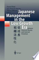 Japanese Management In The Low Growth Era