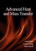 Advanced Heat and Mass Transfer