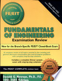 Fundamentals of Engineering Examination Review 2001-2002 Edition