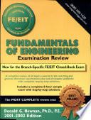 Fundamentals Of Engineering Examination Review 2001 2002 Edition Book PDF