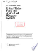 An Assessment of the United States Food and Agricultural Research System