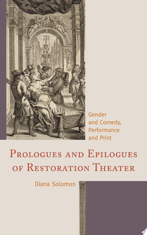 Prologues and Epilogues of Restorat