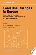 Land Use Changes In Europe Book PDF