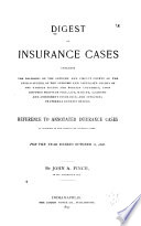 Digest of Insurance Cases