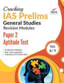 Cracking IAS Prelims Revision Modules – Paper 2 Aptitude Test (Vol. 8/9) [Pdf/ePub] eBook