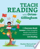 Teach Reading with Orton Gillingham