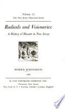 Radicals and Visionaries: A History of Dissent in New Jersey