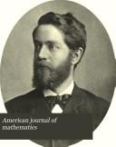 Pdf American Journal of Mathematics
