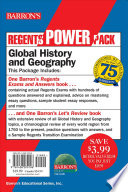 Global History and Geography Power Pack