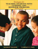 Strategies for Teaching Students with Learning and Behavioral Problems Book