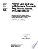 Animal Care and Use in Behavioral Research