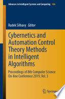 Cybernetics and Automation Control Theory Methods in Intelligent Algorithms