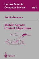 Mobile Agents: Control Algorithms ebook