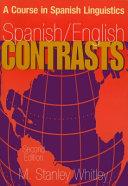 Spanish/English Contrasts