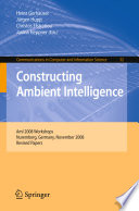 Constructing Ambient Intelligence Book