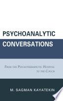Psychoanalytic Conversations