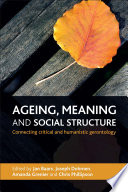 Ageing  meaning and social structure