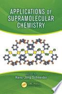 Applications of Supramolecular Chemistry