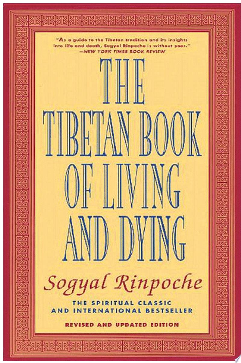 The Tibetan Book of Living and Dying banner backdrop