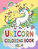 Unicorn Coloring Book Vol. 4