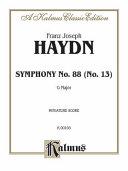 Symphony No. 88 in G Major: Miniature Score, Miniature Score