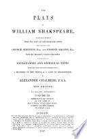 The Plays of William Shakspeare: Merchant of Venice ; As you like it ; All's well that ends well ; Taming of the shrew ; Winter's tale