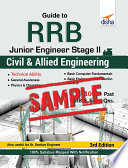 Free Sample Guide To Rrb Junior Engineer Stage Ii Civil Allied Engineering 3rd Edition