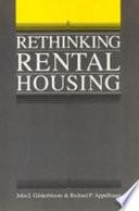 Rethinking Rental Housing